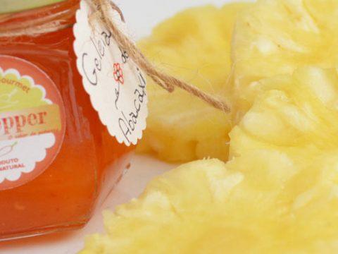 Ananasgelei met sinaasappellikeur