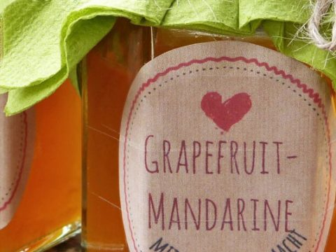 Grapefruit-mandarijnmarmelade