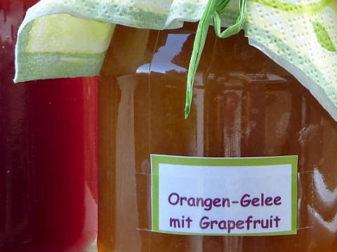 Sinaasappel Grapefruit Jam